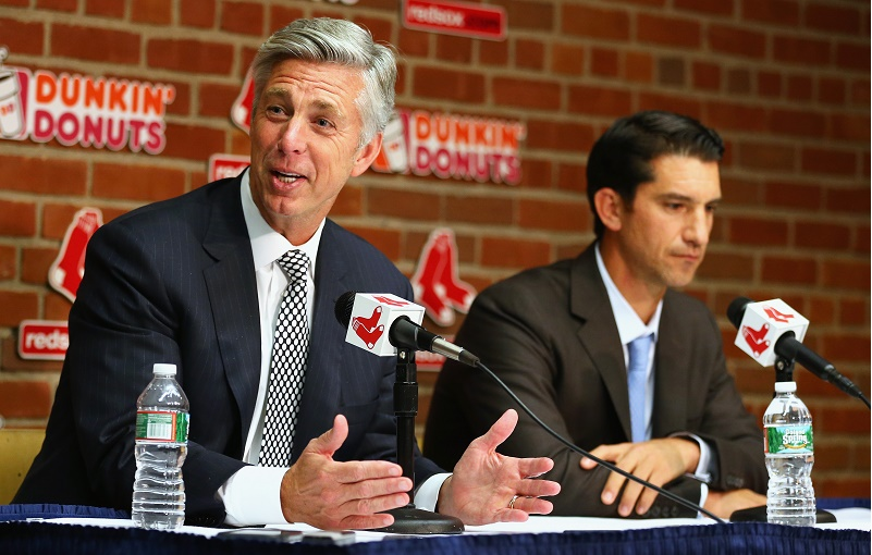 Red Sox Dave Dombrowski Maddie Meyer Getty Images