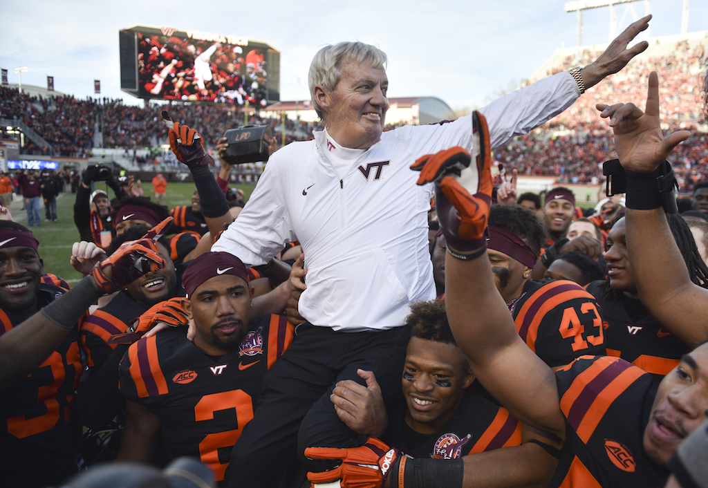 Frank Beamer - Virginia Tech (Michael Shroyer/Getty Images)
