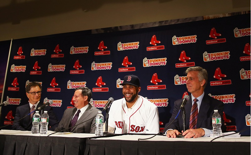 David Price Dombrowski Red Sox Maddie Meyer Getty Images