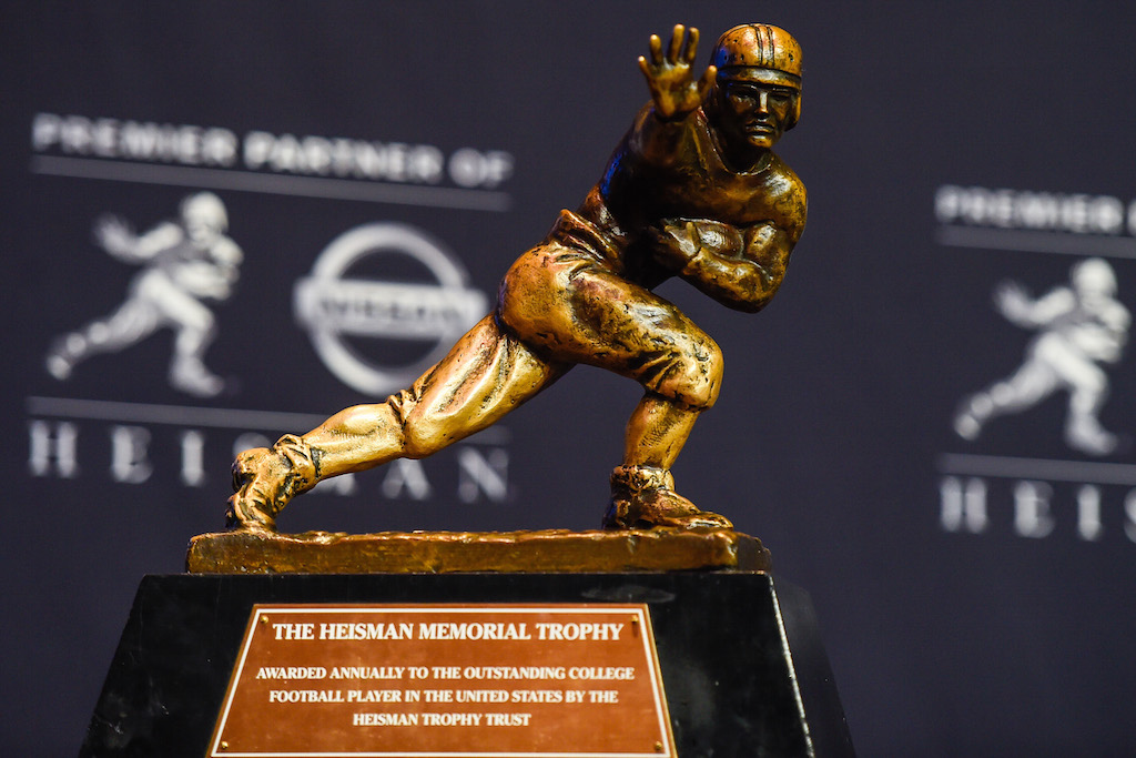 Heisman Trophy at the 2014 presentation