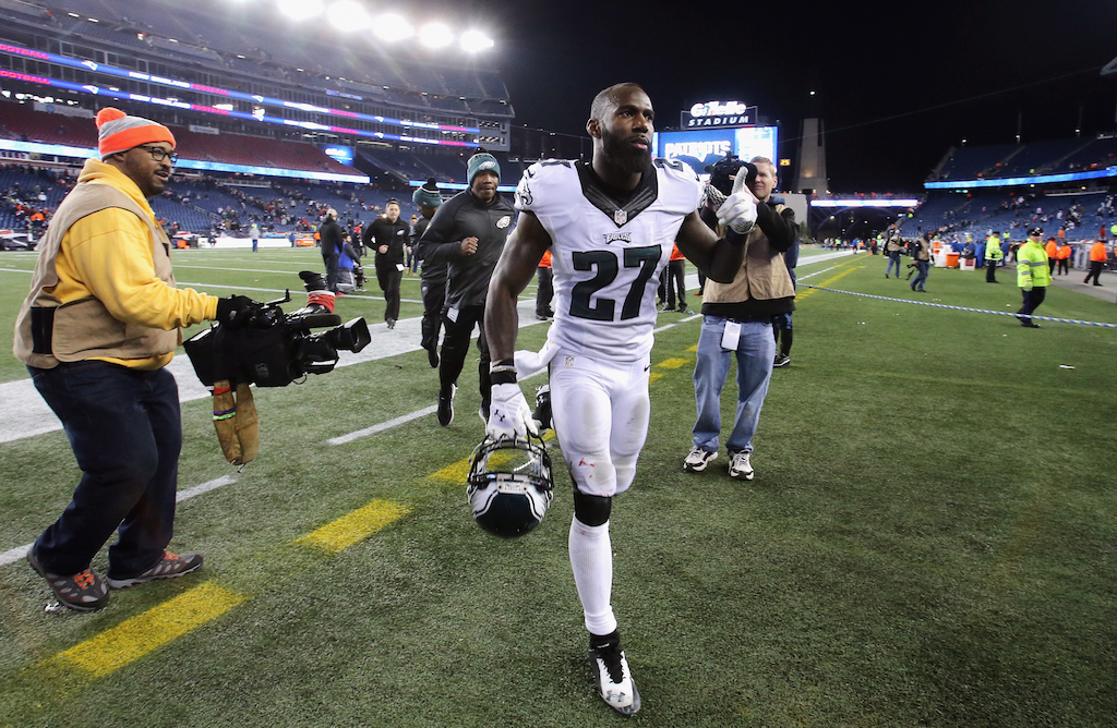 Eagles safety Malcolm Jenkins won't be at the White House.