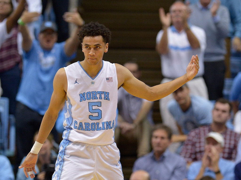 Marcus Paige gets the crowd excited