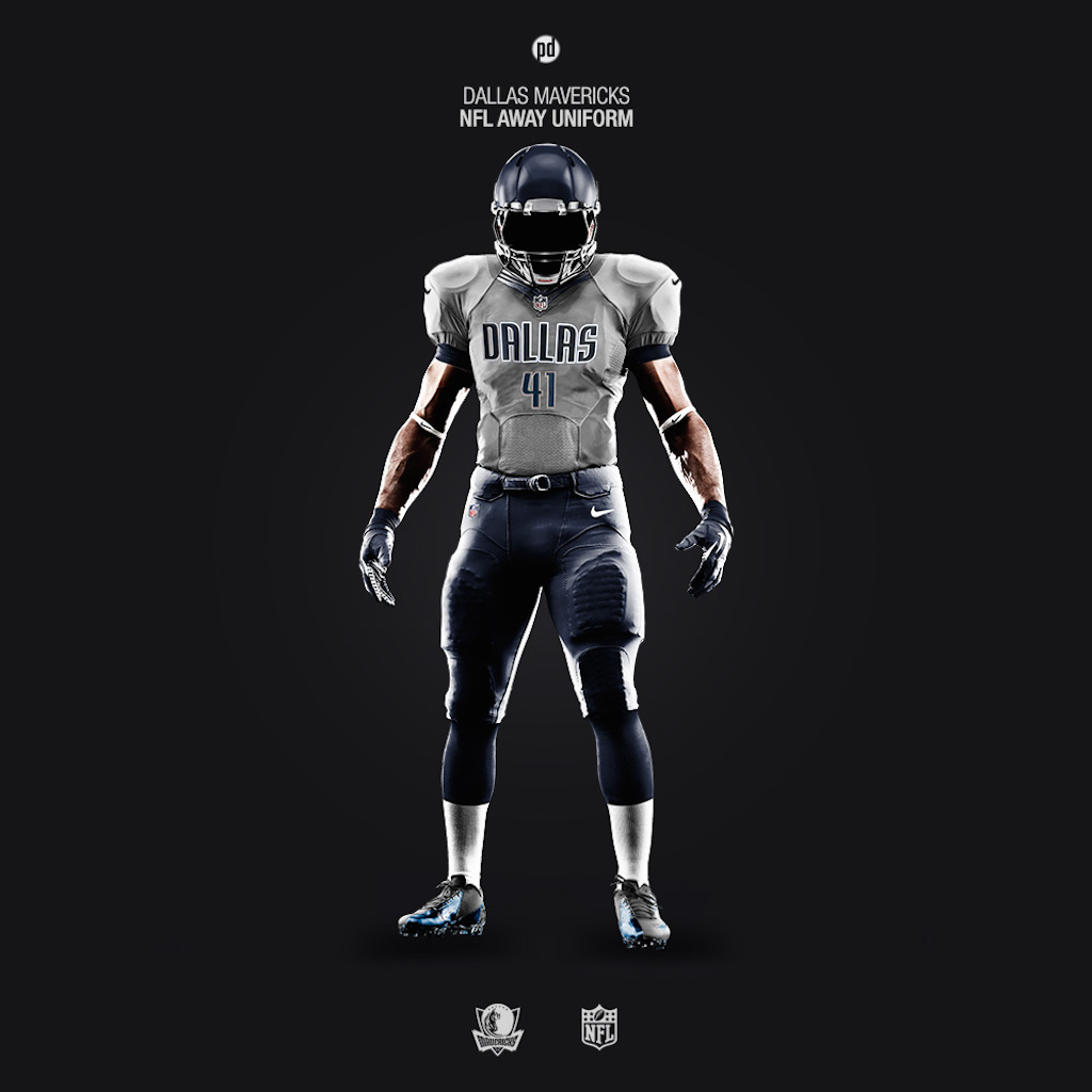 Dallas Mavericks NFL uniform