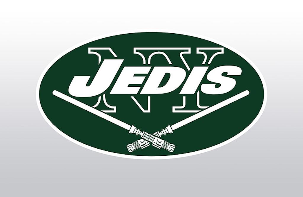 Star Wars-themed New York Jets logo