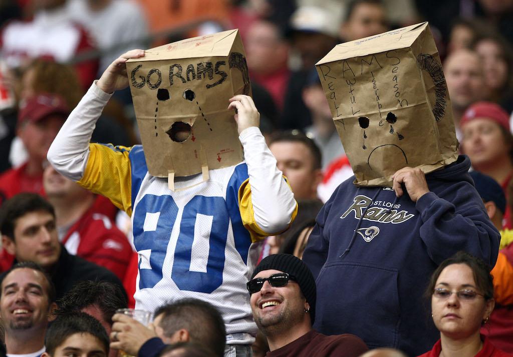 St. Louis Rams fans