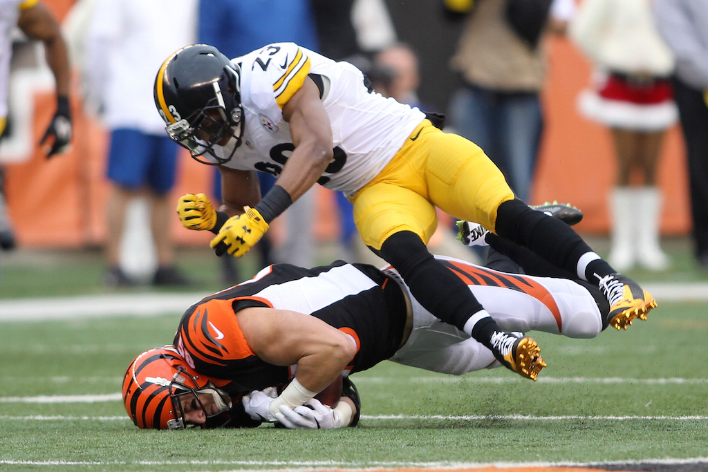 The Steelers and Bengals are one of three current, intense NFL rivalries.