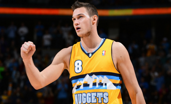 Danilo Gallinari of the Denver Nuggets.