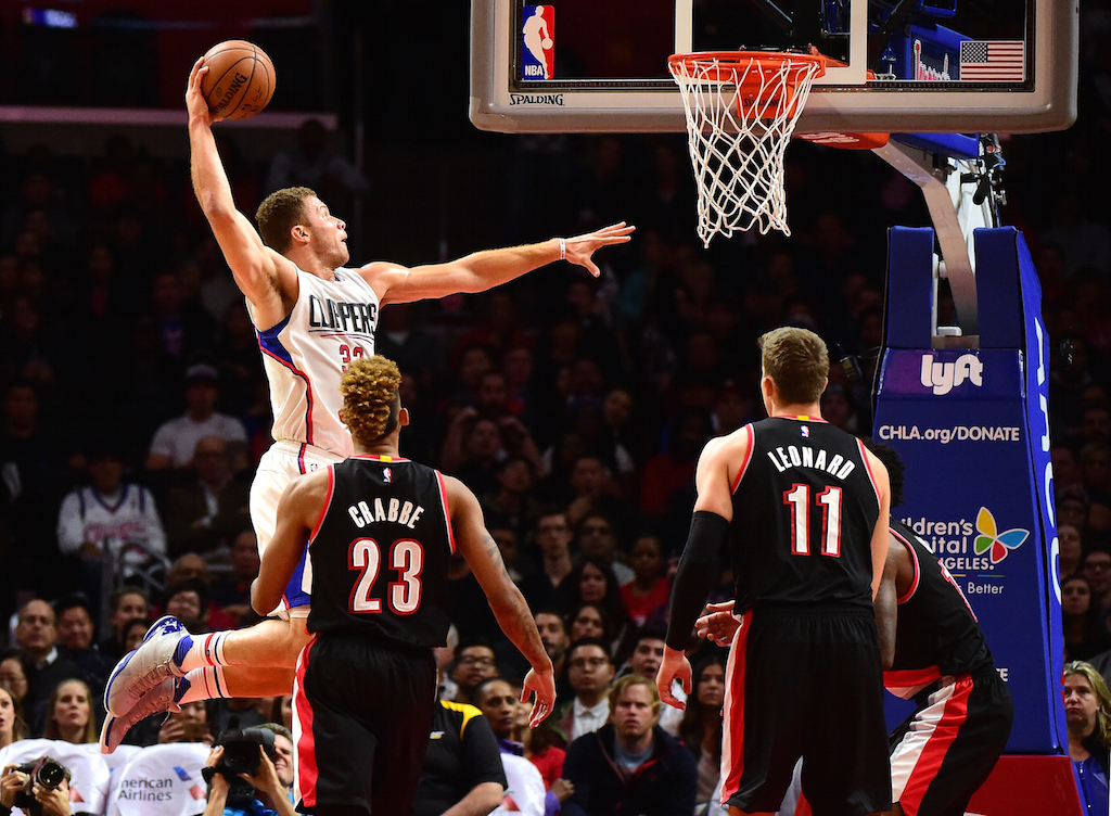 Blake Griffin is quite the dunker.