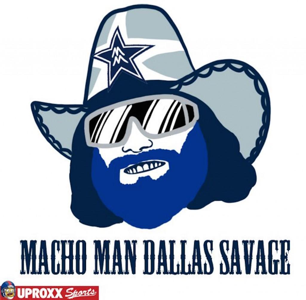 Dallas Cowboys wrestling logo