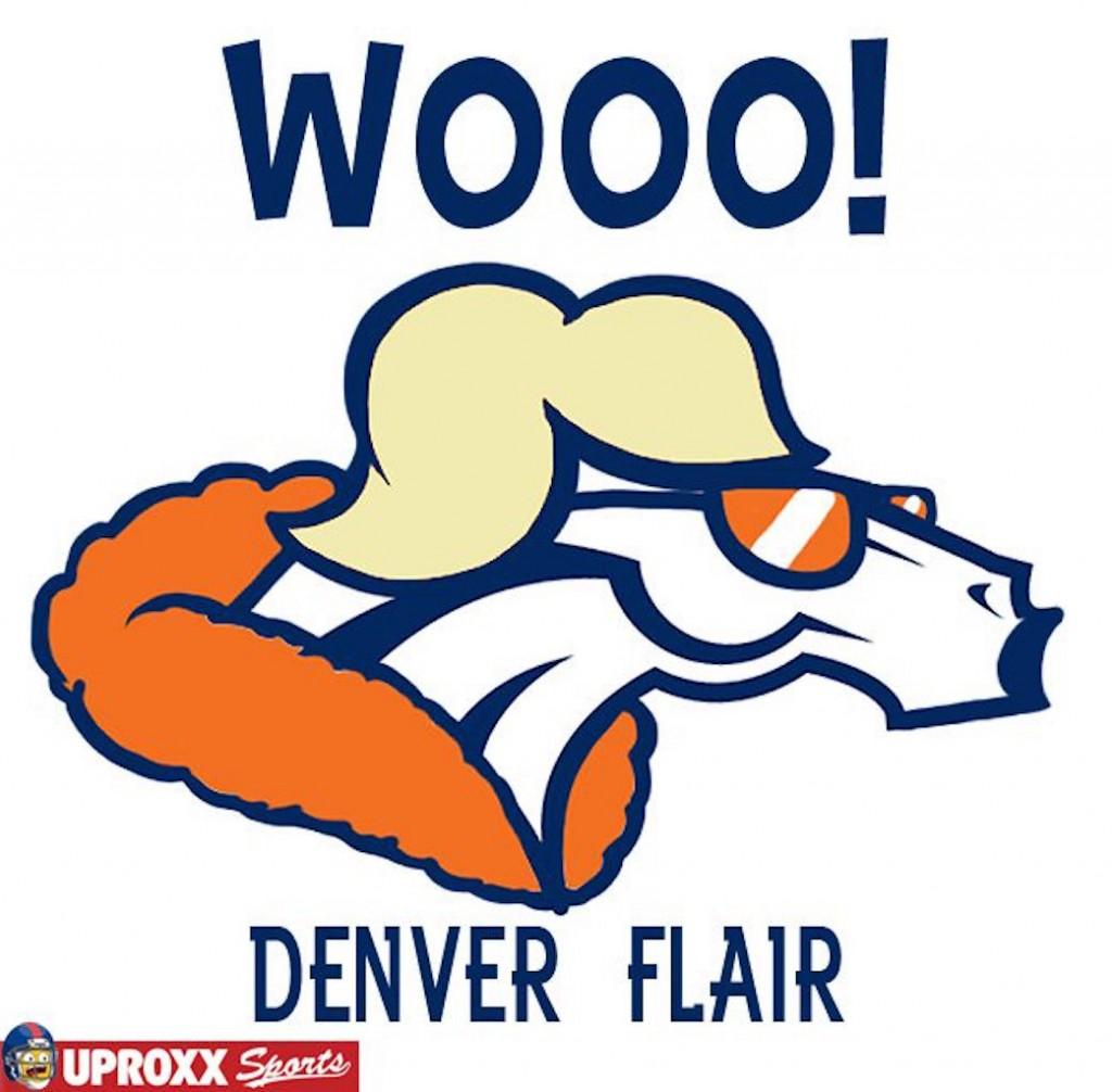 Denver Broncos wrestling logo