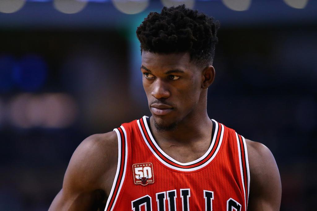 Jimmy Butler Chicago Bulls #21