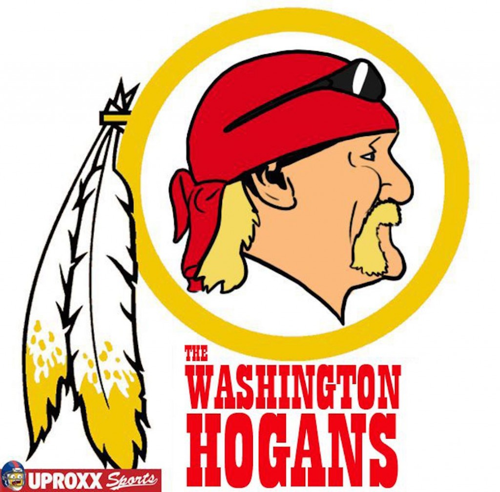 Washington Redskins wrestling logo