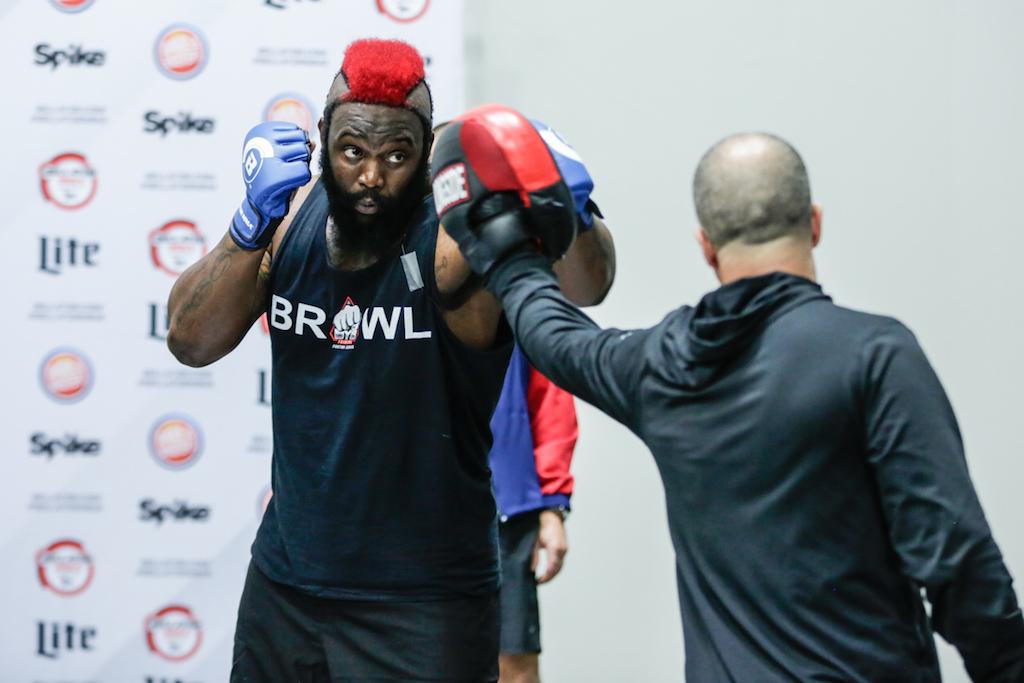 Dada 5000 prepares for Bellator 149 (Bellator MMA/Lucas Noonan)