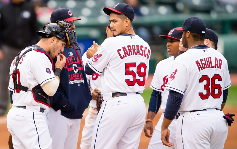 Minnesota Twins v Cleveland Indians - Game One