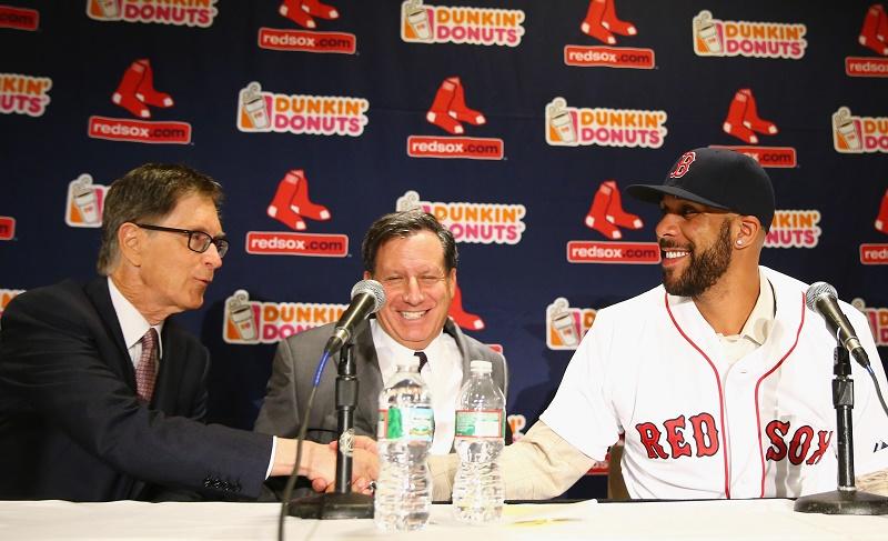 Boston Red Sox Introduce David Price