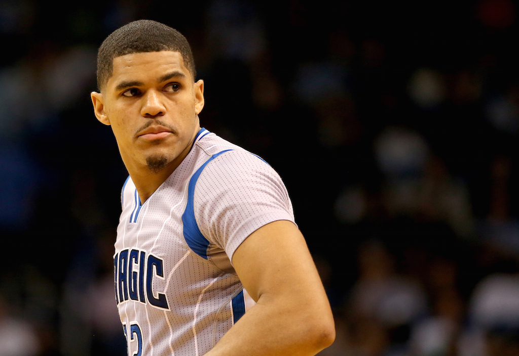 Tobias Harris #12 of the Orlando Magic (Photo by Sam Greenwood/Getty Images)