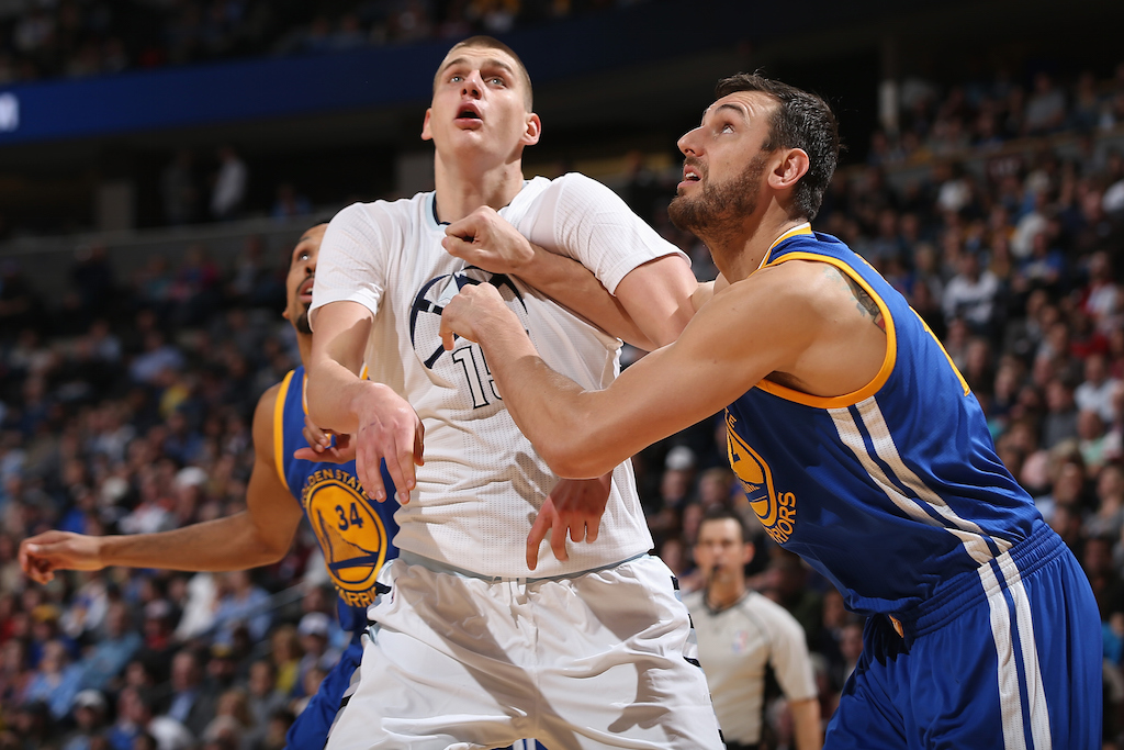 Nikola Jokic #15 of the Denver Nuggets (Doug Pensinger/Getty Images)