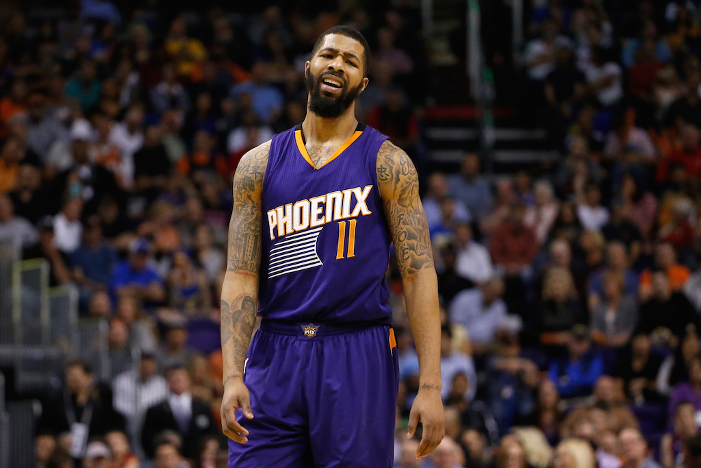 Markieff Morris #11 of the Phoenix Suns (Photo by Christian Petersen/Getty Images)
