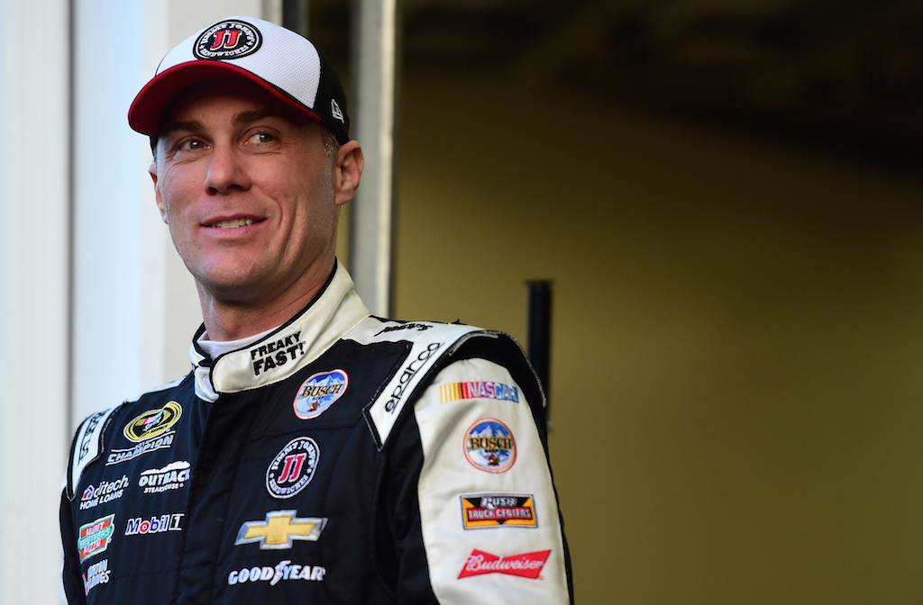 Kevin Harvick during a practice for the Daytona 500