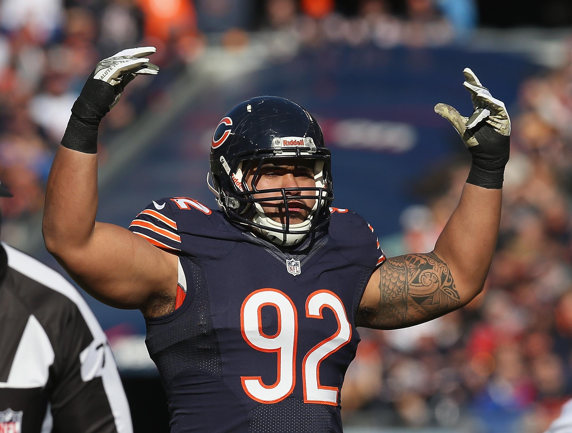 Stephen Paea Chicago Bears