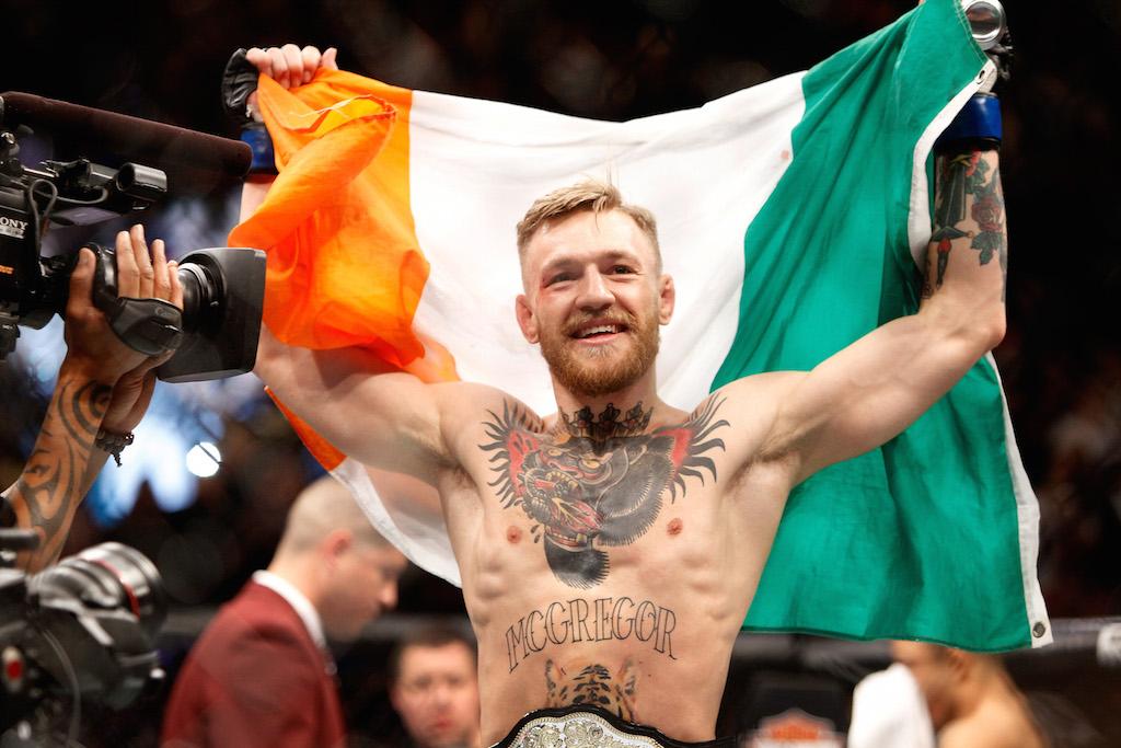 Conor McGregor vs. Nate Diaz - UFC 196