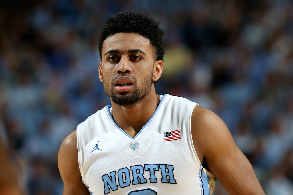 Joel Berry II #2 of the North Carolina Tar Heels during their game at Dean Smith Center on January 30, 2016 in Chapel Hill, North Carolina. (Photo by Streeter Lecka/Getty Images)