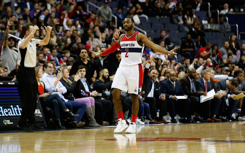 John Wall of the Wizards.