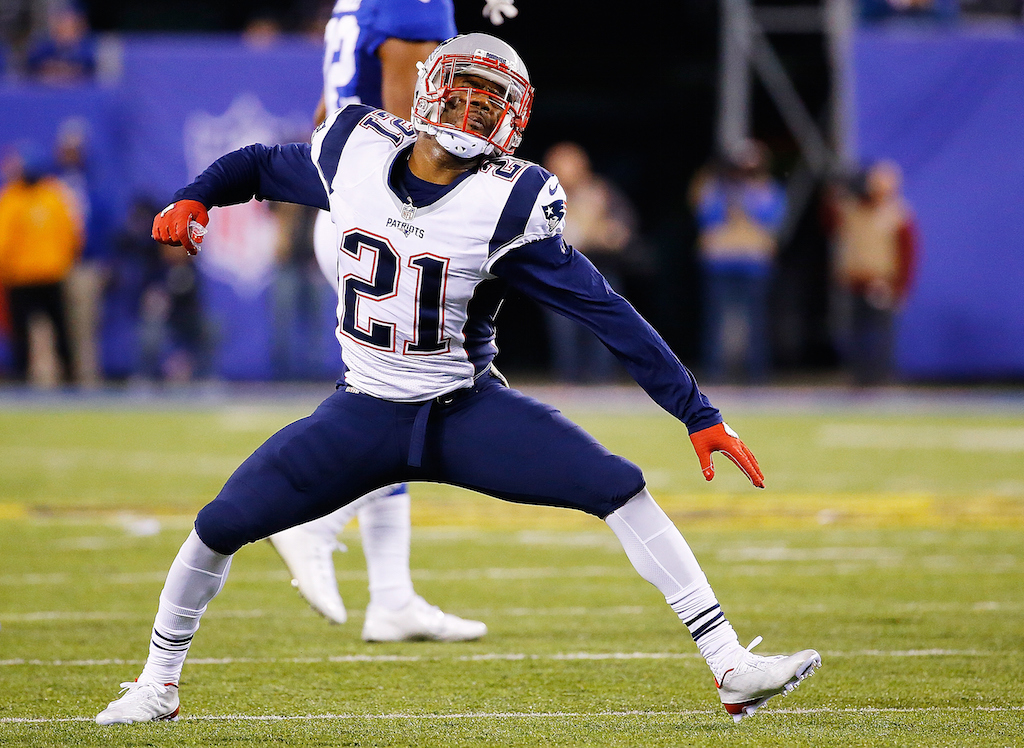 Malcolm Butler of the New England Patriots