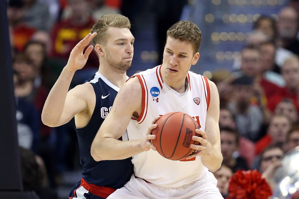 during the second round of the 2016 NCAA Men's Basketball Tournament at the Pepsi Center on March 19, 2016 in Denver, Colorado. Sean M. Haffey/Getty Images
