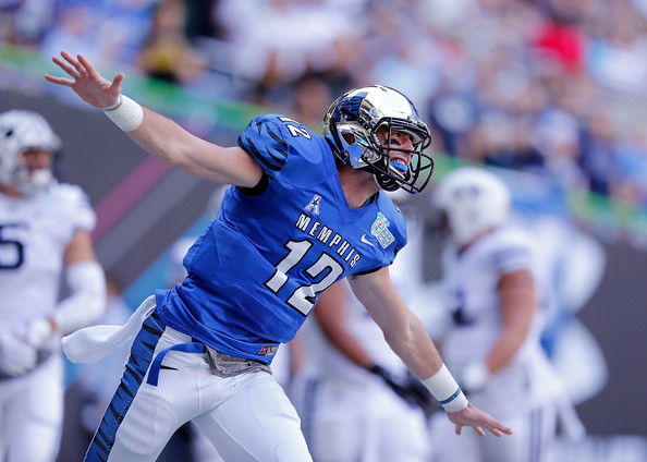 Former Memphis QB Paxton Lynch is now the future for the Denver Broncos
