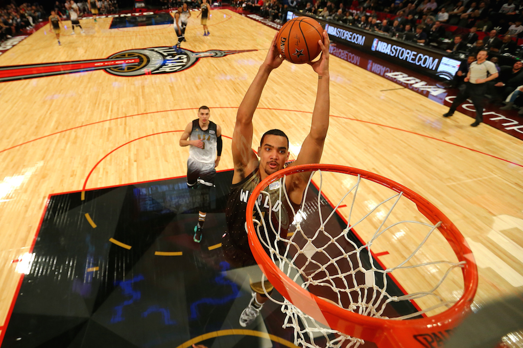 Trey Lyles #41 of the Utah Jazz (Photo by Elsa/Getty Images)