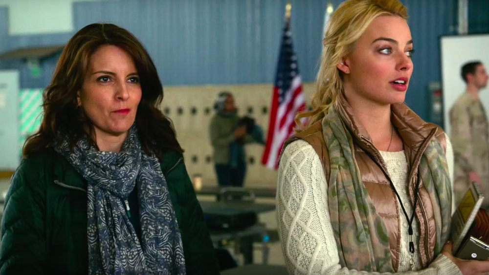 Tina Fey and Margot Robbie act in Whiskey Tango Foxtrot.