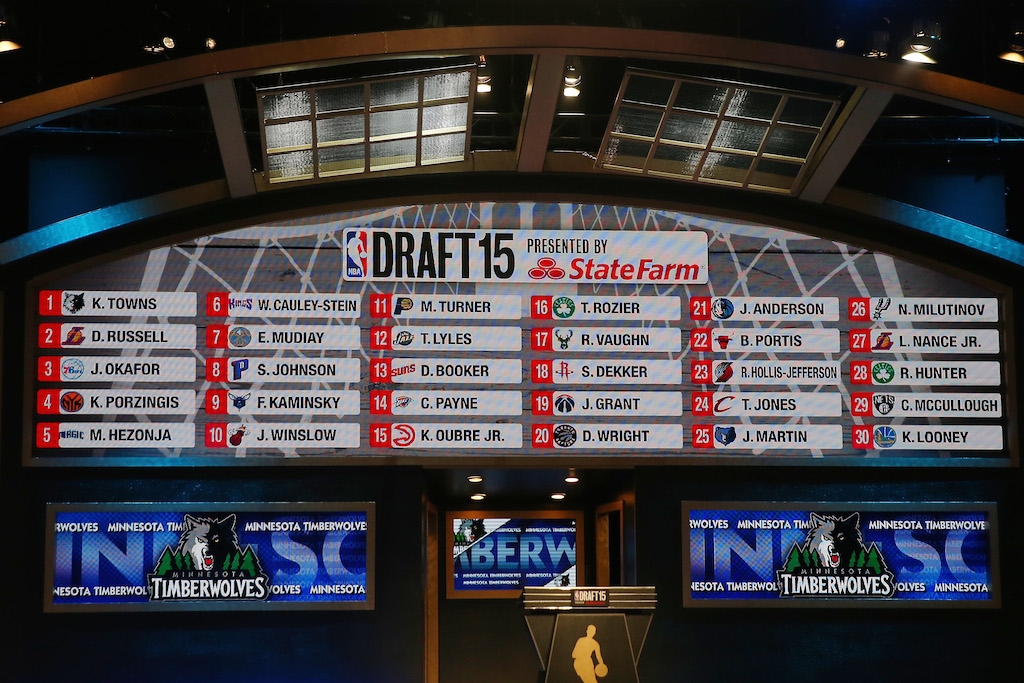 2016 NBA Mock Draft: Final Edition