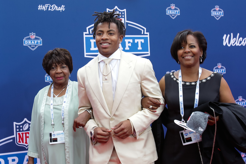 Vernon Hargreaves III arrives at the 2016 NFL draft. | Kena Krutsinger/Getty Images