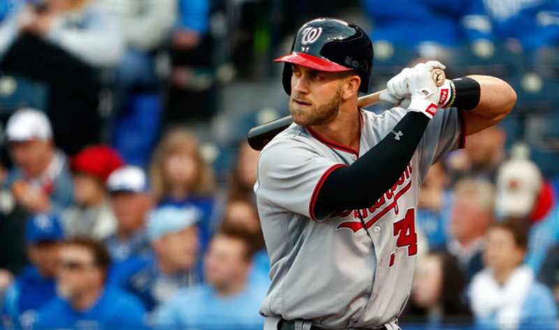 Despite being one of the best MLB players, Bryce Harper wasn't the best player on the Washington Nationals in 2016