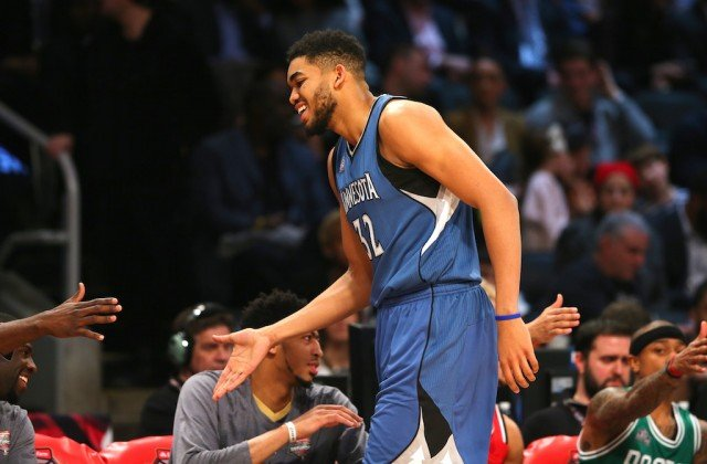 5 Most Impressive Stats From Karl-Anthony Towns' ROY Season
