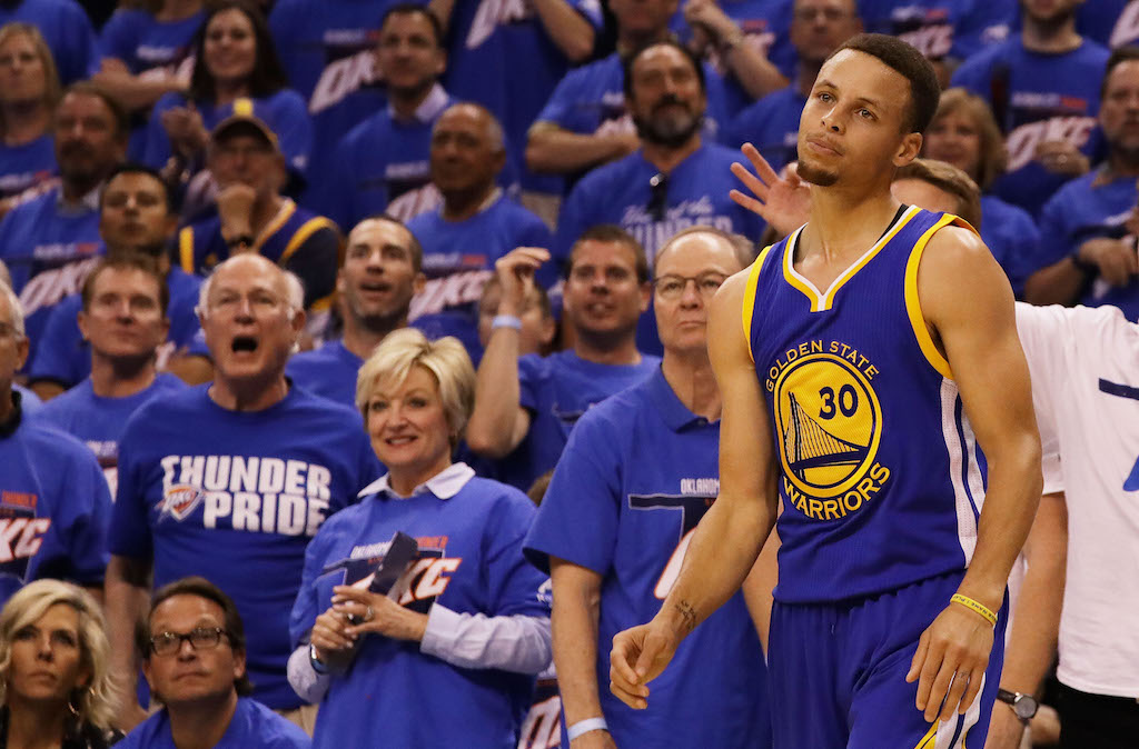 Is Stephen Curry's Knee to Blame the Warriors' WCF Struggles?