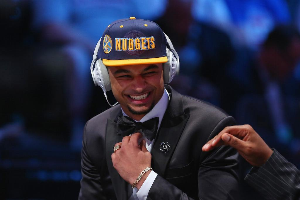Jamal Murray is interviewed at the 2016 NBA Draft