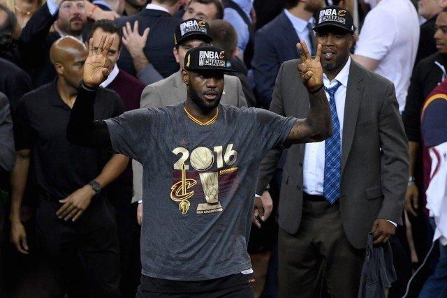 5 Impressive Stats From Lebron James's 2016 NBA Finals Performance