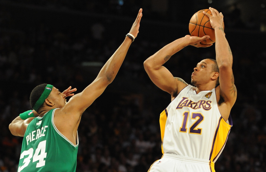 NBA History: Shannon Brown Soars Over the Celtics