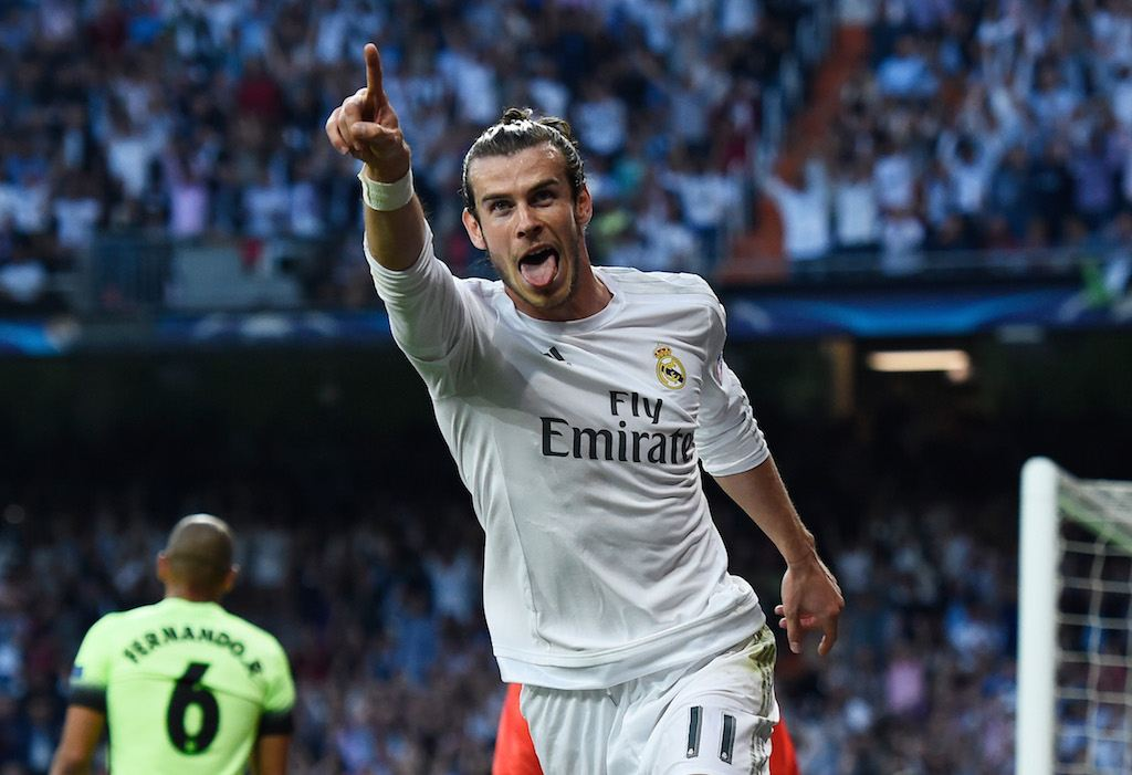 Gareth Bale getting it done for Real Madrid. | David Ramos/Getty Images