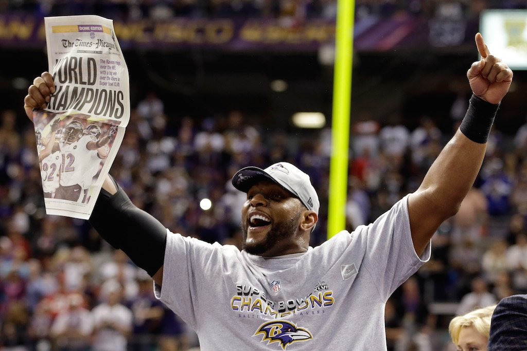 Ray Lewis Baltimore's best player ever