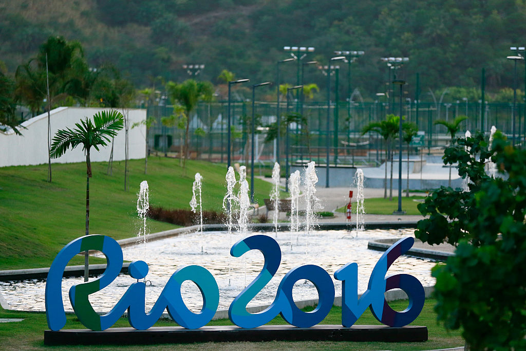 A 2016 Rio Olympics sign | Buda Mendes/Getty Images