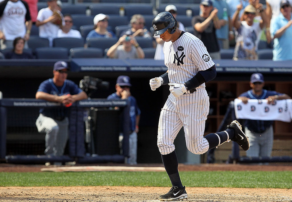 Alex Rodriguez of the New York Yankees