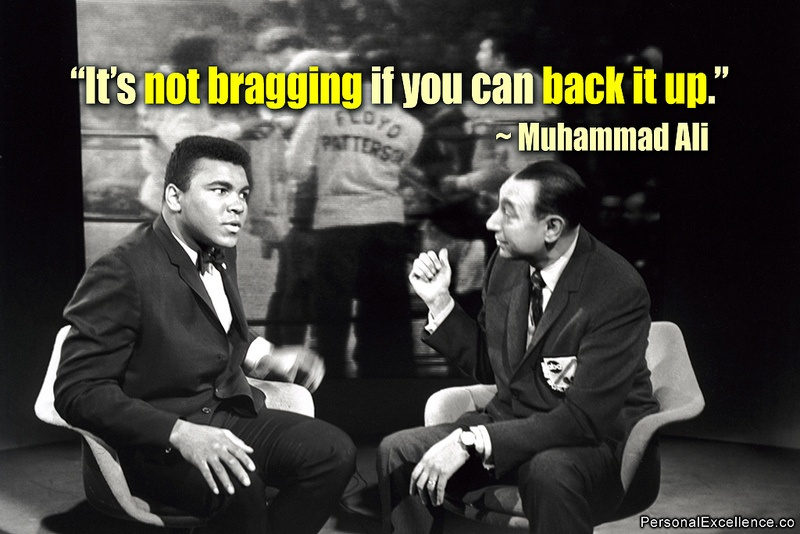 Ali and Howard Cosell