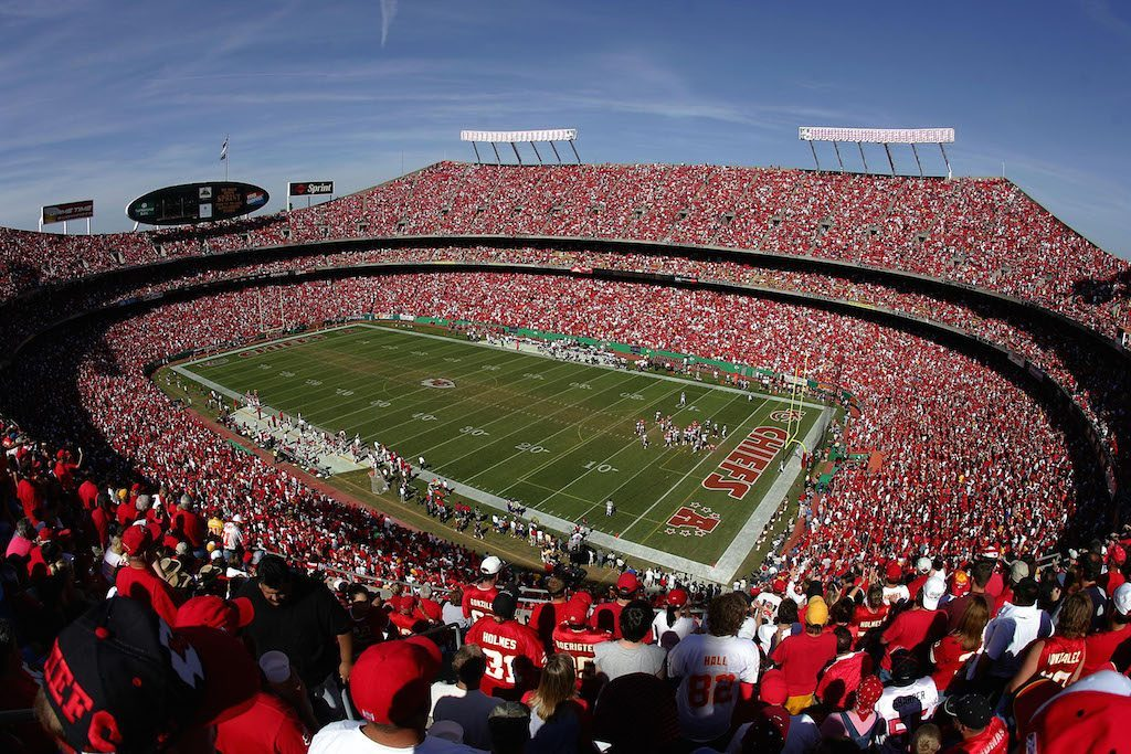 Arrowhead Stadium is one of the best NFL stadiums in the league