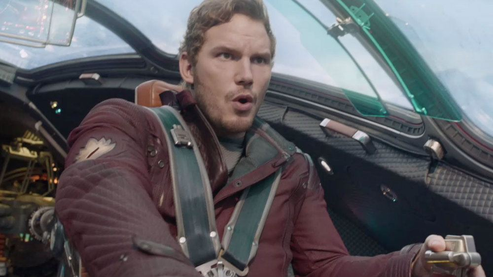 Chris Pratt acts in Guardians of the Galaxy.