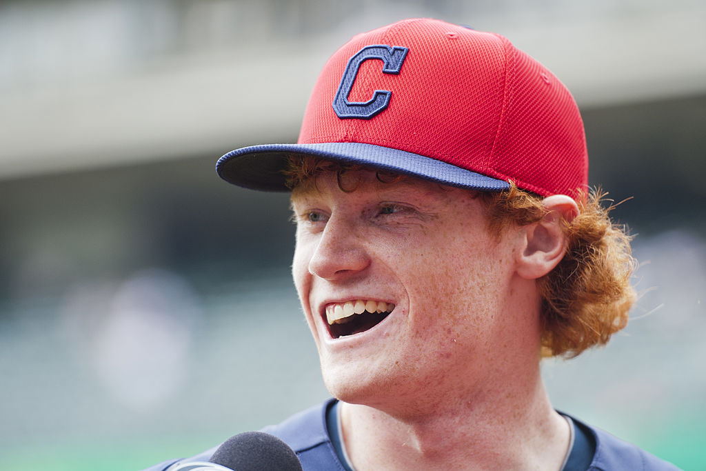 Clint Frazier is one of the MLB redheads on our all-time team.
