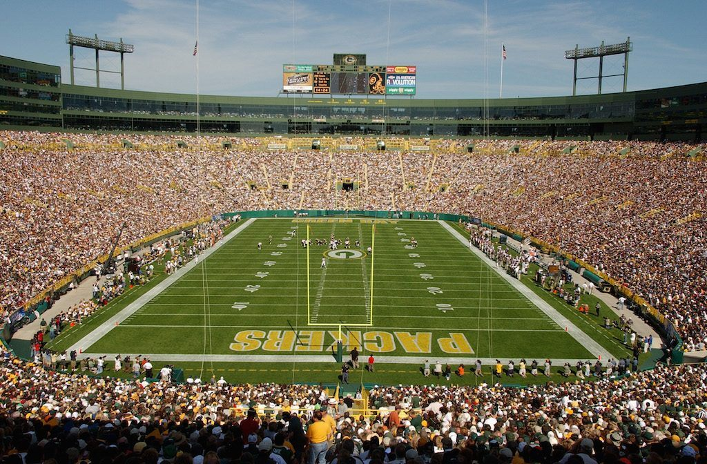 Lambeau Field is one of the best NFL stadiums in the league