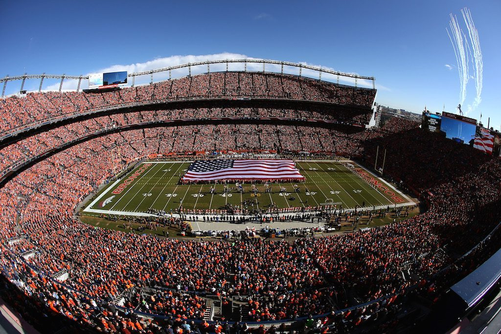 Sports Authority Field at Mile High is one of the best NFL stadiums in the league